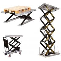 Static and mobile lifting tables