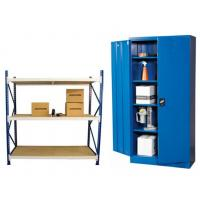 Steel cabinets and universal shelving