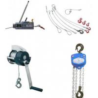 Hand operated hoists and winches