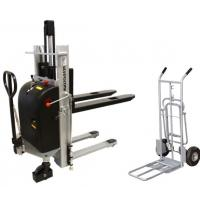Pallet trucks, stackers, order pickers and trolleys