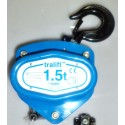 Tralift™ 1500 Manual chain hoist with load limiter
