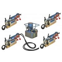 Troliu TU16H cu pompa electrica 4 ramuri