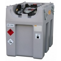 600 l mobile Diesel tank, without lid