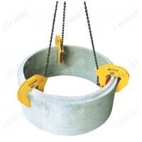 Set compus din 3 carlige si un lant cu 3 ramuri