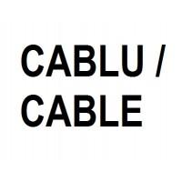 Metru suplimentar cablu cu 5 toroane 19 fire