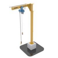 Elmas slewing jib cranes