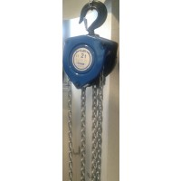 Tralift™ 2000 Manual chain hoist with load limiter, 2 falls