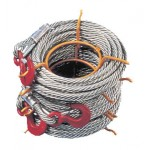 Non rotating wire rope for winches - Length 80 m