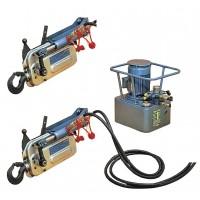 Troliu TU16H cu pompa electrica 2 ramuri