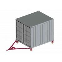 Sistem de deplasare a containerelor ISO
