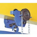 Chain operated Corso trolley - t / 220 mm