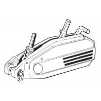 Troliu manual Tirfor 3200kg